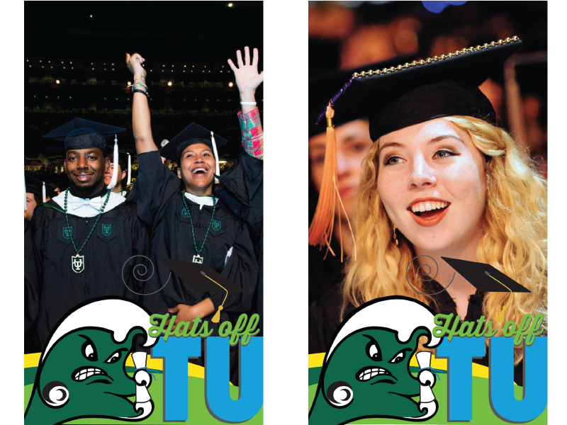 Examples of 2017 commencement fun!